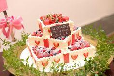 花嫁の憧れウェディングケーキ!豊富に揃う可愛いデザインの数々!お二人のイラストをもとに世界に一つだけのオリジナルケーキも可能です! | Arden Bliss(アーデンブリス)(茨城県:ゲストハウス) | 結婚式場・結婚準備の口コミサイト-みんなのウェディング [写真から探す]