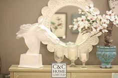 Be the knight on a white horse!  :: Shop C&C Home's latest collection at Chanintr Outlet Nov 16 - 29 2016 at Studio 61 ::   :: Call 0.23922245 or info@cchomelimited.com or www.cchomelimited.com for more details ::   #HOME #HOMEDECOR #CCHOME #STYLE #HORSE #CERAMICWARE #GLASSWARE #CANDLEHOLDER
