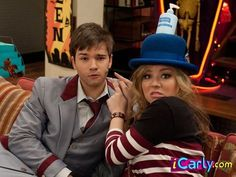 Icarly, Ronald Mcdonald, Hats, Fictional Characters, Hat, Fantasy Characters, Hipster Hat