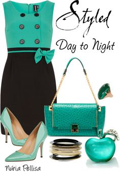 """Day to Night"" by nuria-pellisa-salvado ❤ liked on Polyvore"