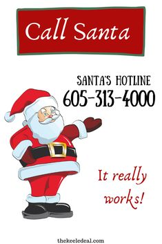 Call Santa at the Santa hotline. This fun Christmas Tradition is a great way to bring the magic into the holidays! Best Christmas Gifts, Christmas Photos, Family Christmas, Christmas Traditions, Christmas And New Year, All Things Christmas, Christmas Time, Christmas Crafts, Santa Christmas