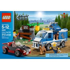 2012 Lego City 4441 Police Dog Van Patrol Set Near Complete for sale online New Lego City Sets, Lego Sets, Police Party, Lego Boxes, Lego Birthday Party, Birthday List, Birthday Presents, Happy Birthday, Lego City Police