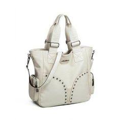 #AdoreWe #DressLily Dresslily Studded Faux Leather Tote Bag - AdoreWe.com