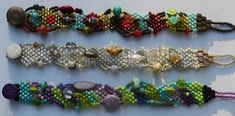 peyote freeform bead weaving jewellery on pinterest - Yahoo Image Search Results