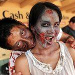 The Zombie Blood Run At Santa Anita Park