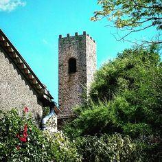 #Latergram / #Clocher-#tour de #VillelonguedAude  #clochersdefrance #aude #jaimelaude #audetourisme #tourismeoccitanie #occitanie