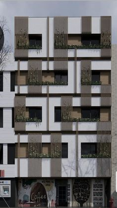 Architecture is art Residential Building Design, Architecture Building Design, Brick Architecture, Building Facade, Facade Design, Building Elevation, Residential Architecture, Exterior Design, Pavilion Architecture