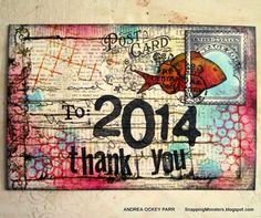 My Cards and Tags: Thank You 2014