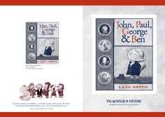John, Paul, George & Ben by Lane Smith discussion guide