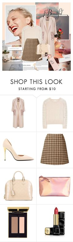 """Beautiful minds inspire others."" by rainie-minnie ❤ liked on Polyvore featuring Oris, Topshop, Chloé, Tom Ford, Orla Kiely, Louis Vuitton and Guerlain"