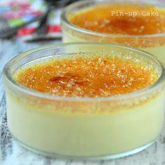 Crème brûlée (przepis z Masterchef Australia) Pin Up, Masterchef Australia, Master Chef, Panna Cotta, Food And Drink, Pudding, Sweets, Sugar, Healthy