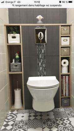 7 idées de Habillage wc suspendu | relooking toilettes, idée toilettes, décoration toilettes