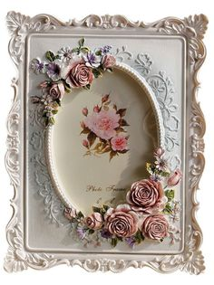 Gift Garden Picture Frames - Rectangular Photo Frame for Wedding Gift/Valentine's Day/ Anniversary 4x6inch