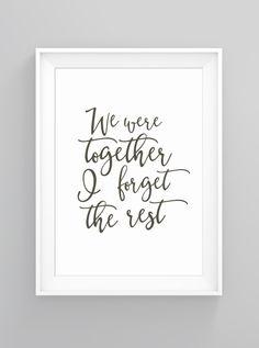 Together | print