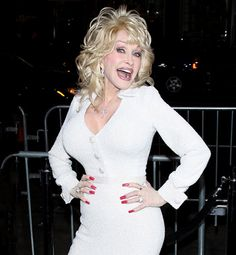 dolly says -- it's like what I always say: I may look fake but I'm real where it counts.