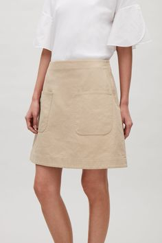 COS | Short cotton skirt