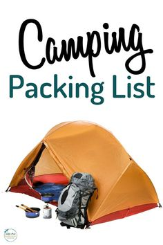 Camping Packing List for a family with kids or without kids. Our list included everything you'll need for clothes, cooking food or taking along your dog. Whether your going for a weekend or longer, this basic checklist will be handy to have. Camping Hacks, Camping Packing, Camping Supplies, Diy Camping, Camping Essentials, Camping With Kids, Tent Camping, Camping Gear, Packing Lists
