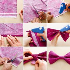 DIY a bow tie collar for your pup with this tutorial.