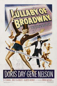Lullaby of Broadway (1951) Doris Day, Gene Nelson $6.50 FREE ship http://www.blujay.com/item/Lullaby-of-Broadway-1951-Doris-Day-Gene-Nelson-12010100-5094755 …