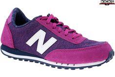 Damskie buty sportowe marki New Balance, indeks produktu: WL410OPB. Materiał: tkanina. Kolor: Różowe. 2 lata gwarancji.