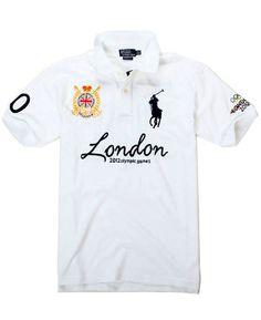 b0152c66962b7 2012 Ralph Lauren London Olympic Games Polo White Ralph Lauren Style