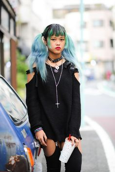 5 Cool Anime Hairstyles To Try [August, Tokyo Street Fashion, Tokyo Street Style, Japanese Street Fashion, Japan Fashion, Street Style Women, Estilo Harajuku, Harajuku Girls, Harajuku Fashion, Harajuku Style