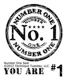 Technique Tuesday - Clear Stamp - Number One Clear Stamps on a inch storage sheet Diy Image, Printable Art, Printables, Printable Labels, Etiquette Vintage, Foto Transfer, K Wallpaper, Tampons, Vintage Labels