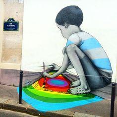 Please paint your dreams by Seth Globe Painter - Paris 13e, France #unparisiendanslaville