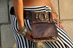 Genuine Leather Hip Bag from Ellko- KIPPY by ELLKO on Etsy https://www.etsy.com/listing/91789878/genuine-leather-hip-bag-from-ellko-kippy