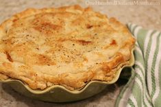 Easy Ham Pot Pie Recipe- This was VERY tasty! I did add a lot more garlic powder than the recipe called for and more onions.