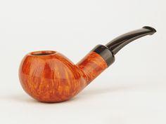 Tsuge Ikebana Pipe Bent Smooth Squat Apple D Grade (Kikuchi)