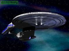 USS Enterprise NCC-1701-B  Rarely seen.  Except in Generations (1994).  Excelsior Class Starship (Refit)!!!