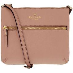 Kate Spade Women's Cedar Street Tenley Saffiano Crossbody Leather Shoulder Satchel - Pink Bonnet