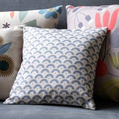 Coussin Eclipse lin, (c)Mini labo, 100% made in France !