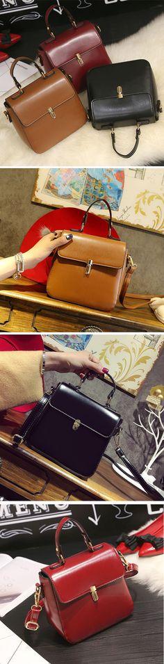 Vintage Leather Crossbody Bag /Shoulder Bag #fashion #style