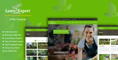"""""""Lawn Expert"""" HTML website template is developed for Gardening, Lawn and Landscaping services provider. It contains minimal, human readable source code which gives the ability to easily customize t..."""