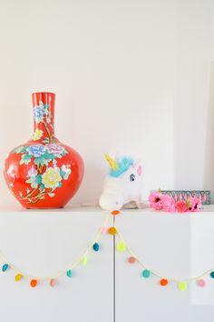 Confetti bunting DIY | Wimke