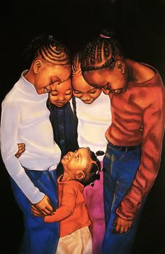 Linda Brown You Are Not Alone Print By Curtis James