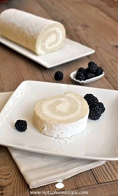 whipped cream cake roulade