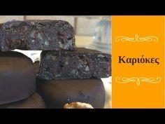 Καριόκες του Akis Petretzikis - YouTube Cookies, Desserts, Youtube, Food, Crack Crackers, Tailgate Desserts, Deserts, Biscuits, Essen