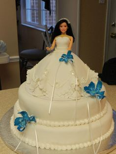 Wedding Doll Cake