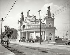 Luna Park entrance, 1905. 17 Vintage Photos of the Steel City of Old - The 412 - January 2014