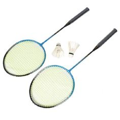 Como Pair Nylon String Metal Shaft Head Badminton Rackets w Shuttlecocks by Como. $12.38. Features nonslip handle, comfortable for you to play badminton, a great tool for fitness use in daily life. Come up with convenient storage bag for outdoor use. Come with pair shuttlecock for you to play. Badminton Racket, Tennis Racket, Racquet Sports, Rackets, Bag Storage, Outdoors, Handle, Play, Metal