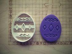 kapak / Formička- Vajíčko vzorované 8cm 019