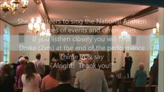 Sergeant Sing the National Anthem at Award Ceremony-Stephanie Whatley-Fa...
