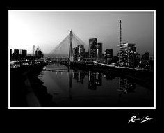 Estaiada Bridge, 2010 New York Skyline, Bridge, Travel, Sao Paulo, Viajes, Bridge Pattern, Bridges, Destinations, Traveling
