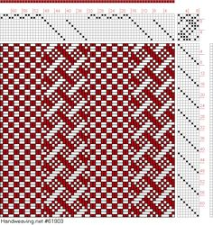 draft image: Page Figure Textile Design and Color, William Watson, Longmans, Green & Co. Weaving Designs, Weaving Projects, Weaving Patterns, Weaving Textiles, Textile Fabrics, Willow Weaving, Basket Weaving, Loom Weaving, Hand Weaving
