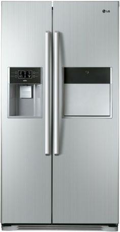 LG GW-P207FLPV SBS Gw, French Door Refrigerator, French Doors, Door Handles, Kitchen Appliances, Bathroom, Home Decor, Door Knobs, Diy Kitchen Appliances