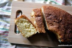 Bizcocho de yogur casero / Homemade Yogurt Sponge Cake