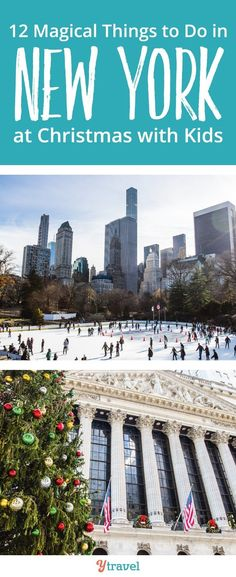 There are so many cool things to do in New York City at Christmas with kids. It's the most magical time of the year and no one does the Christmas Holiday Season like New York #NewYork #NewYorkCity #NewYorkChristmas #NYC